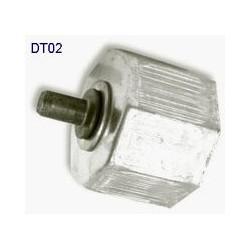 Contera para tubo octogonal 60