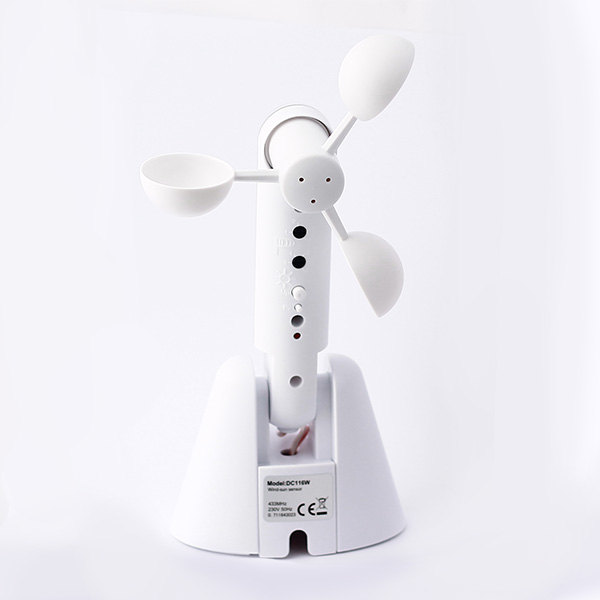 Sensor sol y viento